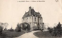 CPA - 18 - ALLOGNY - Château De Beauchêne - France