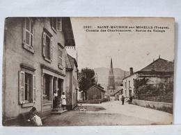 Saint Maurice Sur Moselle. Chemin Des Charbonniers. Entrée Du Village - Andere Gemeenten