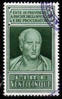 1946 Marca Fiscale Pevidenza Procuratori E Avvocati - Revenue Stamps