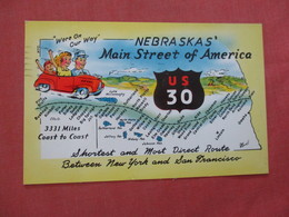Map  US 30 Main Street  - Nebraska >         Ref 4016 - Autres