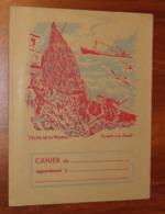 PROTÈGE CAHIER - PÊCHE A LA MORUE - Années 50 - 18x24 - Bon état D'usage : Voir Photos - 11 - Protège-cahiers