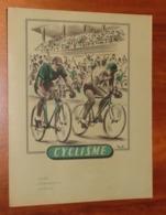 PROTÈGE CAHIER - CYCLISME Tour De France 1951 - Années 50 - 18x23 - Très Bon état : Voir Photos - 12 - Protège-cahiers