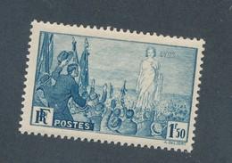 FRANCE - N°YT 328 NEUF** SANS CHARNIERE - 1936 - Neufs