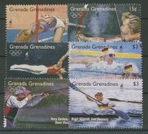 Grenada-Grenadinen 1995 Olympia Sommerspiele Atlanta 2094/99 Postfrisch - Grenade (1974-...)