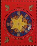 RO) 2019 ARGENTINA,PHOSPHORESCENT INK -LIGHT IN THE DARK. CHRISTMAS -BELEN STAR -LIGHT, HOPE, AND FAITH -BIRTH SYMBOLS - Argentina