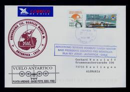 """Punta Arenas - Base Pdte.Edo Frei"" Aviation Helicopter Flight Base ANTARTIC Region Chile Gc4793 - Poolvluchten"