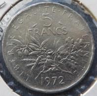 FRANCE   5 Franc 1972 - France