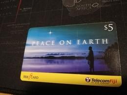 FIDJI  PREPAID  FINE USED CARD ** 1672** - Fiji