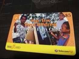 FIDJI  PREPAID  FINE USED CARD ** 1673** - Fiji