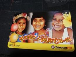 FIDJI  PREPAID  FINE USED CARD ** 1676** - Fiji