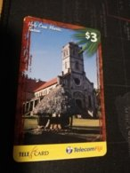 FIDJI  PREPAID  FINE USED CARD ** 1677** - Fiji