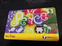 FIDJI  PREPAID  FINE USED CARD ** 1679** - Fiji