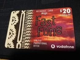 FIDJI  PREPAID  FINE USED CARD ** 1680** - Fiji