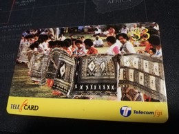 FIDJI  PREPAID  FINE USED CARD ** 1681** - Fiji
