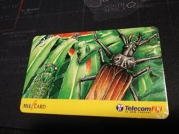 FIDJI  PREPAID  FINE USED CARD ** 1683** - Fiji