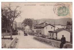 CAHORS - La Rue Du Lycée Prise Du Pont Valentré - Cahors