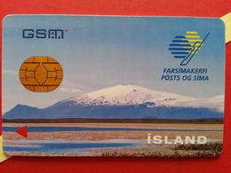 ISLAND SIM GSM POSTUR OG SIMI Chip - Numbers Behind USIM RARE MINT ? (BH1219b - Islandia