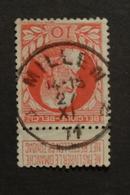 COB 61 Avec Belle Oblitération Concours Millen Relais - 1905 Thick Beard
