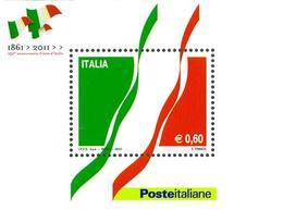 93947) ITALIA-150º Anniversario Dell'unità D'Italia - BLOCCO FOGLIETTO - 7 Gennaio 2011 -MNH** - Blocks & Sheetlets