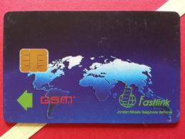 JORDANIE SIM GSM Fastlink - No Number Sample USIM RARE MINT ? (BH1219b - Jordanie