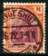 D-REICH INFLA Nr 198 Zentrisch Gestempelt X6873EE - Used Stamps