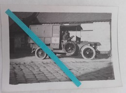 1915 Bray Sur Somme Ambulance Automobile Française Aumonier Aumonerie Postes Secours Bléssés WW1 14 18 1WK Photo - War, Military