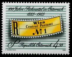 ÖSTERREICH 1985 Nr 1806 Postfrisch SB68C96 - 1945-.... 2. Republik