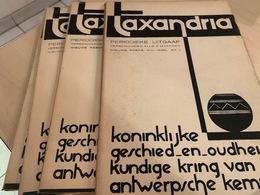 Taxandria - Antwerpse Kempen Heemkunde - Jaargang 1936 Voll - 4 Nr's - Books, Magazines, Comics