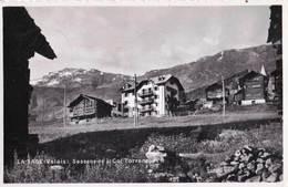 CPA La Sage  (Valais Suisse) Sasseneire Et Col Torrent    Hotels      Ed Perrochet 2079 - VS Wallis
