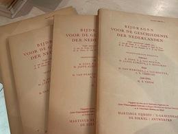 Bijdragen Voor De Geschiedenis Der Nederlanden - 1961 - 4 Stuks - Books, Magazines, Comics
