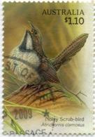 2009 AUSTRALIA Noisy Scrub-bird $1.10 VF USED (. This Is Your Stamp ) Yvert Et Tellier No. AU 3144 - 2000-09 Elizabeth II