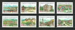 Turkey - 2008 - ( Turkey Provinces - 1st Complete Set ) - MNH (**) - 1921-... República