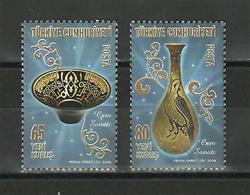Turkey - 2008 - ( Traditional Turkish Arts - Glassware ) - MNH (**) - 1921-... República