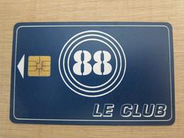Le Club 88 Chip Card - Frankreich