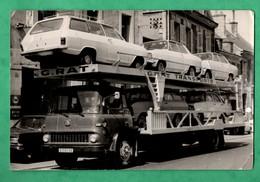 86 Photographie Automobile Camion Transports G. Rat Vouneuil Sous Biard Poitiers Fontenay Le Comte Photo 12cm X 18cm - Auto's