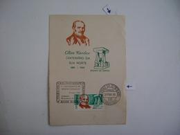 BRAZIL / BRASIL - CENTENARY SHEET OF ALLAN KARDEC DEATH (SPIRITISM) 31-3-1969 IN THE STATE - Autres