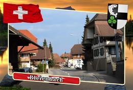 Postcard, REPRODUCTION, Municipalities Of Switzerland, Bleienbach - Landkaarten