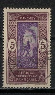 DAHOMEY      N°  YVERT   :  61 ( 11 )     OBLITERE       ( OB   6 / 32 ) - Dahomey (1899-1944)