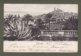 """CANNES VUE GENERALE """"DOS SIMPLE """" ( TTB état) 759 - Cannes"""