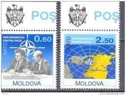 1994. Moldova, NATO, 2v, Mint/** - Moldavia
