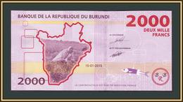 Burundi 2000 Francs 2015 P-52 (52a) UNC - Burundi