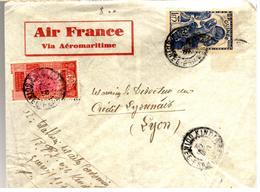 31311 - Via AEROMARITIME Pour La France - French Guinea (1892-1944)
