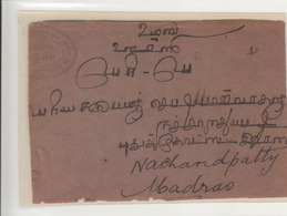 Thailand / India / Postmarks - Tailandia