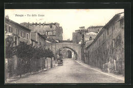 Cartolina Perugia, Via Della Conca - Perugia