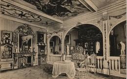 Kleve Schloß Moyland (Bedburg-Hau) Innenansicht Gerichts-Saal 1914 - Kleve