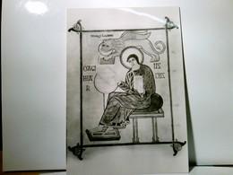 The British Museum. The Lindisfarne Gospels. Alte AK S/w. Evangelien In Latein Geschrieben In Lindisfarne, Kun - Zonder Classificatie