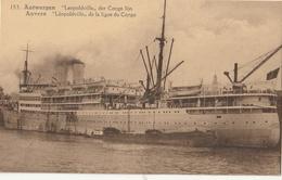 """BELGIQUE - ANVERS - """" Léopoldville """" De La Ligne Du Congo - Antwerpen"""