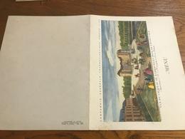 Paquebot Antilles 1° Classe Menu 12 Août 1957 Avec Autographe De Pablo Casals Violoncelliste Et Chef D'orchestre - Menu