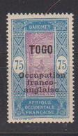TOGO              N° YVERT  :  97  NEUF AVEC CHARNIERES         ( CH     3 / 01 ) - Togo (1914-1960)