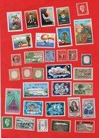 Lot De 33 Timbres MONDE Neufs - Collections (without Album)